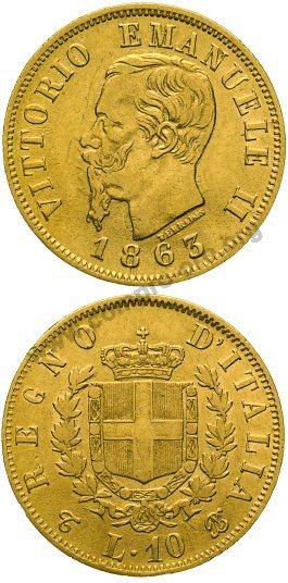 689a4e4c61 10 Lire Mezzo Marengo Italia Quotazione, Valore, Monete in Oro ...